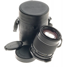 PENTAX TAKUMAR 6x7 CAMERA LENS 1:2.8/165 SUPER-MULTI-COATED f=165mm 67 CAPS CASE