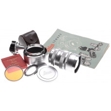 SUMMAREX 1.5/85mm RARE FAST SILVER LEICA LENS KIT FILTER FINDER MONOCHROME DREAM