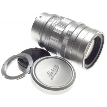 SILVER SUMMICRON 2/90mm M39 MOUNT LEICA M CAMERA LENS f=90mm FITS M9 MONOCHROME