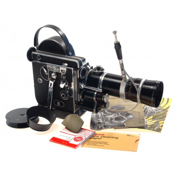 BOLEX H16 REFLEX MOVIE FILM CAMERA VARIO SWITAR 2.5 f=18-86mm OE ZOOM LENS AS IS