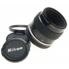 AI-S NIKON f=55mm MICRO-NIKKOR 55mm f/2.8 CAPS FILTER SERVICED CLA LENS 2.8/55mm