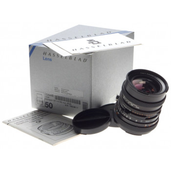 HASSELBLAD CF DISTAGON 4/50mm f=50mm T 500 V-series camera lens box caps papers