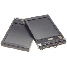 TRIXALE 4x5 film plate holders pair of 2 units well used for linhof sinar No 4