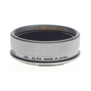 SANKYO KOHKI KOMURA Uni Alpa camera lens mount adapter 46mm aproximately chrome