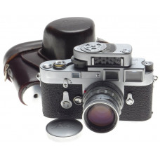 Just Serviced LEICA M3 DS Rangefinder chrome camera rigid Summicron 2/50mm lens