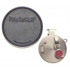 Photoclip vintage retro round rangefinder camera self timer for Leica in case