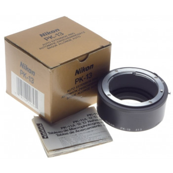 PK-13 macro AI-S Nikon auto extension ring 27.5 SLR 35mm camera adapter boxed