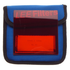 Orange LEE filter 100x100 mm pro glass 4x4 No:25 film movie cameras excellent