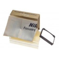 Focusing screen Nikon D verre de visee F3 einstellscheibe boxed SLR camera clean