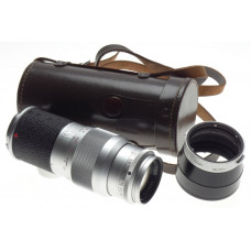 HEKTOR 1:4.5/135 Beautiful Leica M Bayonet mount f=135mm Chrome lens hood kit