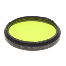 HASSELBLAD Yellow filter Bayonet mount / 50 2x YG -1 fits Zeiss planar 2.8/80mm