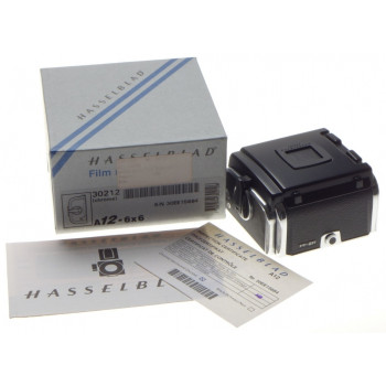 HASSELBLAD 30212 A12 6x6 Chrome Mint- Boxed 120 film back camera magazine insert