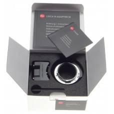 MINT Leica R Adapter M with Tripod lens Mount Lens 14642 Typ 240 M9 M8 ME Boxed