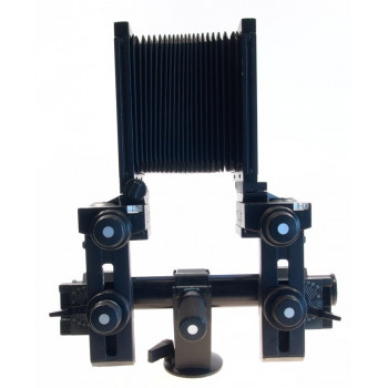 SINAR BLACK P2 LARGE FORMAT 4x5 CAMERA SYSTEM BELLOWS TRIPOD RAIL HOLDER FRAMES