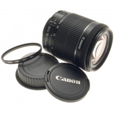CANON DIGITAL CAMERA LENS ZOOM EF-S 18-55mm 1:3.5-5.6 IS STM  NEW MACRO -BOX UVa
