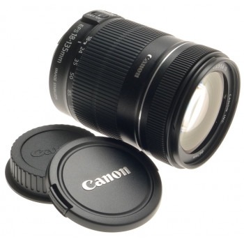 CANON DIGITAL CAMERA LENS ZOOM EF-S 18-135mm 1:3.5-5.6 IS NEW MACRO NO BOX CAPS