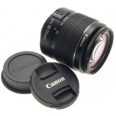 CANON DIGITAL CAMERA LENS ZOOM EF-S 18-55mm 1:3.5-5.6 III AF/MF NEW MACRO -BOX 2