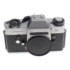 LEICAFLEX 35mm VINTAGE FILM CHROME SL CAMERA BODY WITH CAP CLEAN CONDITION USED