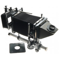 PLAUBEL 4x5 MEDIUM FORMAT FIELD CAMERA MONORAIL COMPENDIUM VIEWFINDER SHIFT TILT