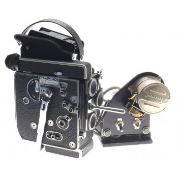 BOLEX REFLEX 16mm RX5 ANIMATION MOTOR H16RX FILM CAMERA TAKES A 400ft FILM MAG
