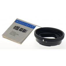 HASSELBLAD 16 EXTENSION TUBE BLACK LENS ADAPTER MOUNT MACRO MINT MANUAL INCL. NR