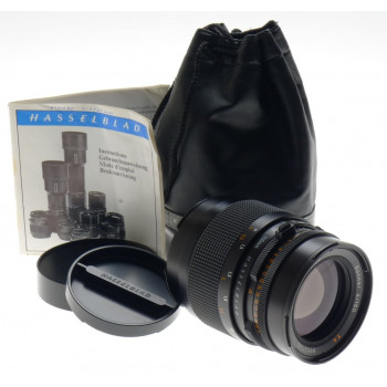 HASSELBLAD CAMERA LENS SONNAR 4/150mm CF f=150mm T* ZEISS CAPS POUCH MANUAL MINT