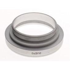 LEICA OUEPO FITS 2/90 SUMMICRON f=90mm CHROME VISOFLEX LENS ADAPTER MOUNT CLEAN