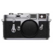 LEICA M3 Just Serviced Chrome / Black rangefinder camera body 35mm film spool