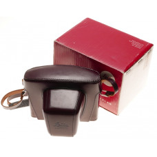 14504 Leitz box Mint ever ready leather case neck strap Burgundy Leicaflex leica