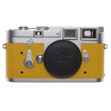 Leica M3 Just Serviced Rangefinder film camera body re skinned Yellow #1070645