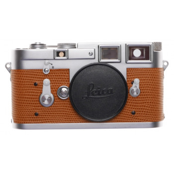 Leica M3 Just Serviced Rangefinder film camera body re skinned Lizzard #914261