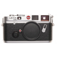Chrome Leica M6 Rangefinder camera Just Serviced Strap Shell Case Instructions