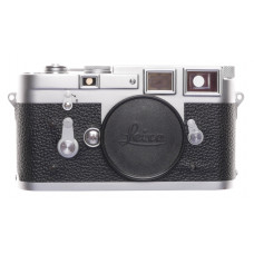 Leica M3 Just Serviced Rangefinder 35 film camera body re skinned Black #894953