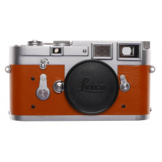 Leica M3 Just Serviced Rangefinder 35mm film camera body re skinned Tan #1073095