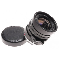 Leica Elmarit 1:2.8/28mm Black 1st Version 9 elements Leitz cap Exellent optics