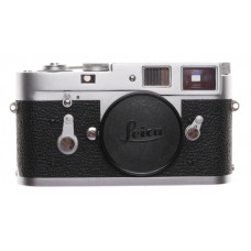 M2 Leica Rangefinder 35mm film vintage Camera body chrome with Manual #1069999