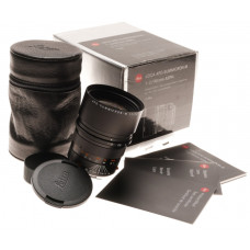 Leica Apo-Summicron-M 1:2/90mm ASPH. Boxed Mint 6-bit coded black lens hood caps