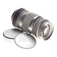 Chrome Leica Elmar f=9cm 1:4 leitz screw mount M39 rangefinder excellent 4/90mm