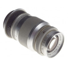 Elmar f=9cm 1:4 Chrome compact 1:4/90mm M39 screw mount Leitz lens rangefinder