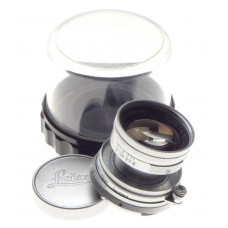 Collapsible Summicron f=5cm 1:2 Silver Chrome Leica lens 2/50mm Bayonet M coated