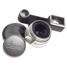 1:3.5/35 Summaron Leica chrome camera lens version with goggles eyes coated M3
