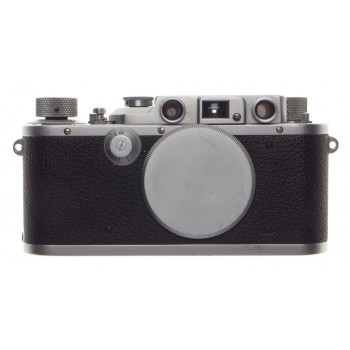 3B Leica IIIb Leitz III B Rangefinder Camera Body with cap JUST SERVICED chrome