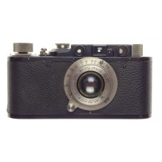 Nickel Leica I rare black paint camera Elmar 3.5 f=5cm collapsible 50mm upgrade