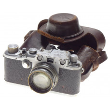 Italian Airforce R.Aeronautic Just Serviced Leica IIIc Summitar f=5cm 1:2 RARE