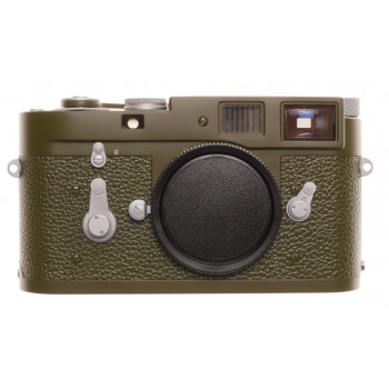 Leica Olive M2 Safari Re paint MINT improved view finder Just Serviced restored