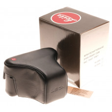 14569 Leica Original vintage leather black ever ready camera case SLR MINT Boxed