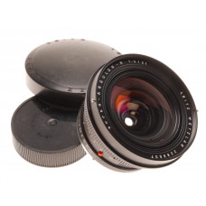 11813 Leica Super-Angulon-R 1:4/21mm Extra Wide Angle lens caps Coated f=21mm f4