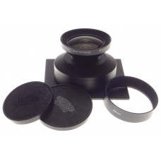 SUPER-Angulon 5.6/90 SINAR lens board large format f=90mm wide angle lens hood