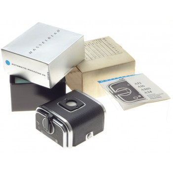 AUTOMATIC MAGAZINE 24 HASSELBLAD 301104 FITS 500 C/M 501 ELM BOXED PAPERS MINT-