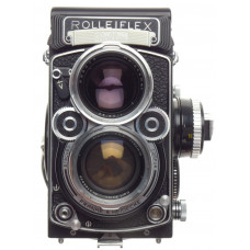 Rolleiflex 2.8F TLR camera Zeiss Planar 2.8/80mm lens case strap Grip dream kit